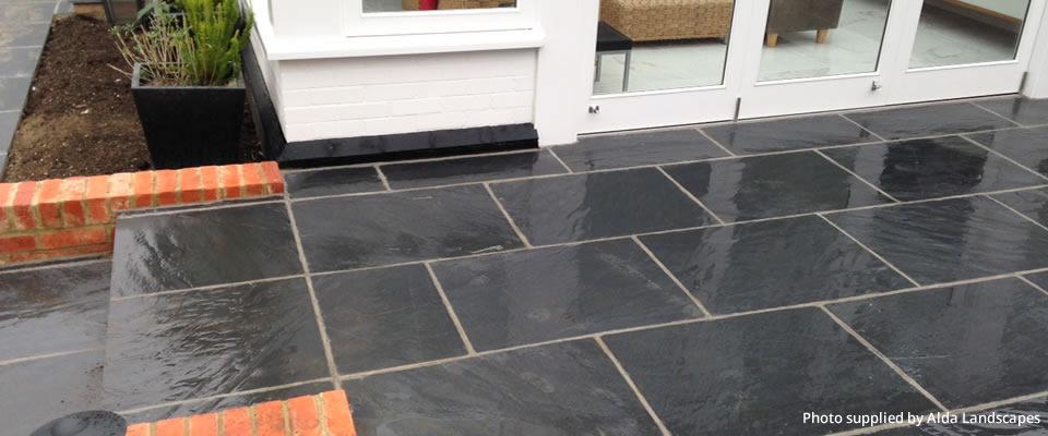 Grey Slate Patio Tiles Maribo Intelligentsolutions Co